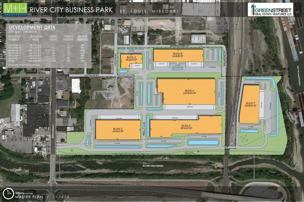 River City Site Plan