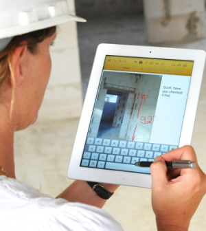 Image gallery ipad construction for Application ipad construction maison