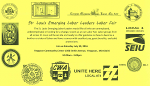 St. Louis Emerging Labor Leaders Labor Fair @ Ferguson Community Center | Ferguson | Missouri | United States