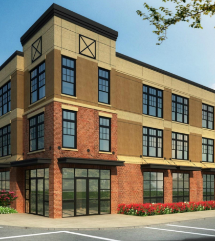 Chouteau & Taylor Mixed Use Rendering