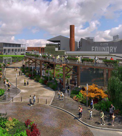 City Foundry graphic