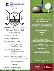 Jake Jare Memorial Golf Tournament @ Whitmoor Country Club   Weldon Spring   Missouri   United States