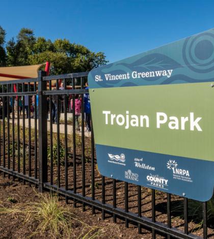 trojan-park-sign
