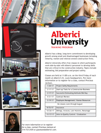 Alberici University - Employee Management/Human Resources @ Alberici Headquarters | St. Louis | Missouri | United States