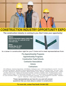 Construction Industry Opportunity Expo @ National Geospatial Agency Site (NGA) | St. Louis | Missouri | United States