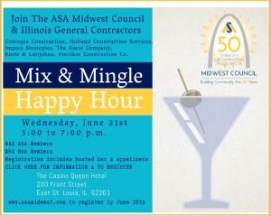 ASA -Mix & Mingle Happy Hour @ The Casino Queen Hotel | East Saint Louis | Illinois | United States