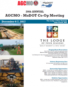 AGC/MODOT Co-Op Meeting @ The Lodge of Four Seasons | Village of Four Seasons | Missouri | United States