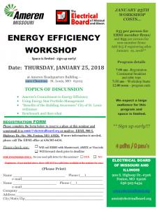 Energy Efficiency Workshop @ Ameren Headquarters Building   St. Louis   Missouri   United States