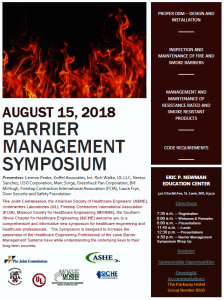 2018 Barrier Management Symposium @ Eric P. Newman Education Center | St. Louis | Missouri | United States