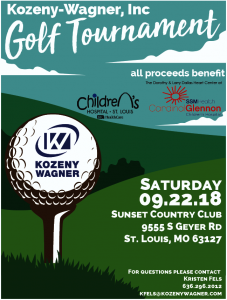 Kozeny-Wagner Golf Tournament @ Sunset Country Club | St. Louis | Missouri | United States