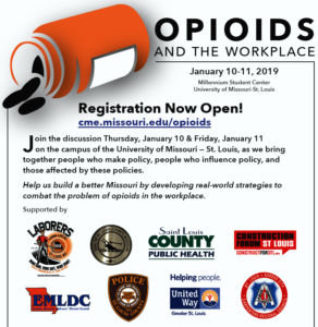 Opioids and the Workplace @ UMSL Millennium Student Center