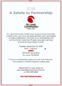 "St. Louis Community Credit Union ""A Salute to Partnership"" @ St. Louis Community Credit Union 