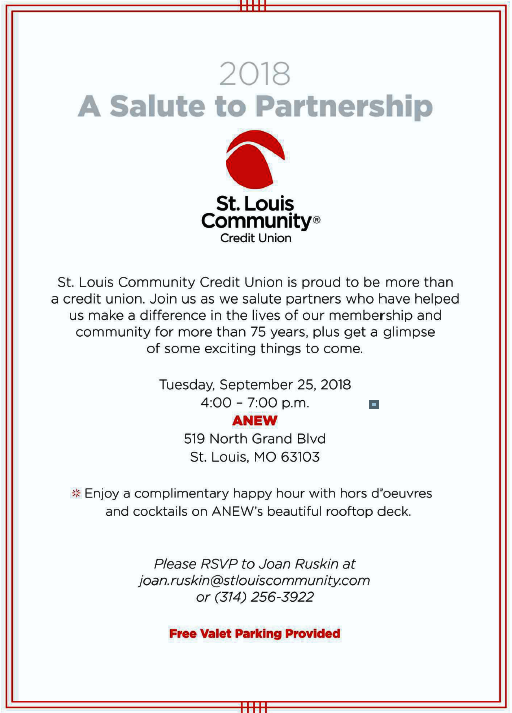 St Louis Community Credit Union A Salute To Partnership