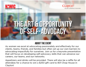 The Art & Opportunity of Self-Advocacy @ Clayco | St. Louis | Missouri | United States