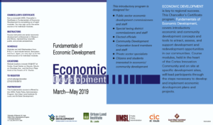 Fundamentals of Economic Development Chancellor's Certificate - Module 3 @ Jefferson Ballroom