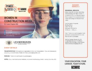 Women in Construction Week - Regional Brunch @ Les Bourgeois Vinyards