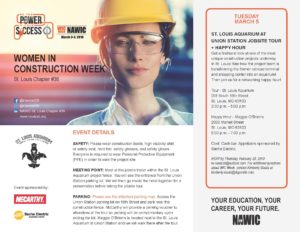 Women in Construction Week - St. Louis Aquarium Jobsite Tour + Happy Hour @ St. Louis Aquarium at Union Station