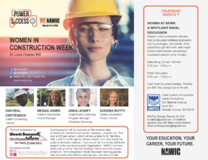 Women in Construction Week - Women at Work: A Spotlight Panel Discussion @ Castle Contracting