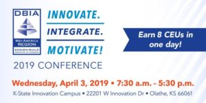 DBIA-MAR 2019 Regional Conference -- in Kansas City @ Kansas State University