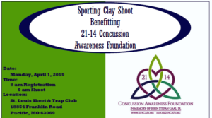 Sporting Clay Shoot for 21-14 Concussion Awareness Foundation @ St. Louis Skeet & Trap Club