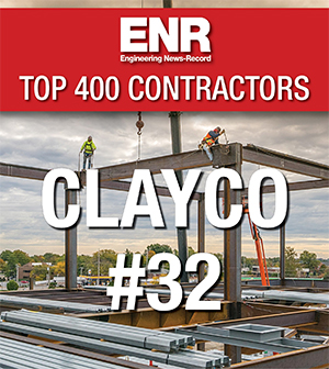 Clayco Rises to 32nd in ENR Top 400 - ConstructForSTL