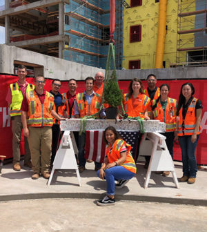 02ba081feb McCarthy Building Companies, Inc. joined Oklahoma Heart Hospital, Mercy and  a group of community leaders at a May 7 ceremony commemorating the topping  out ...