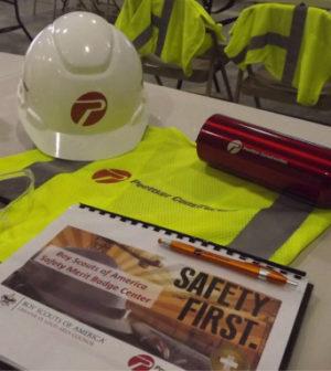 Poettker Construction Sponsors Boy Scouts Safety Center