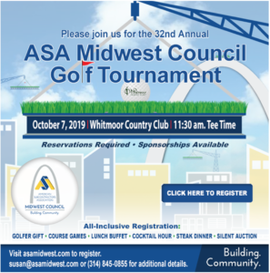 ASA Midwest Council Golf Tournament @ Whitmoor Country Club