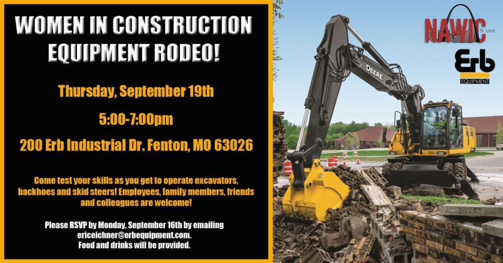 NAWIC Women in Construction Equipment Rodeo @ Erb Equipment Company
